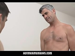 Mormon Dad And Twink Son Hot Family Fuck taboo mormon dad