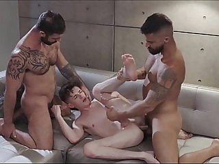 Dad & Son 023 - Yake01 twink (gay) blowjob (gay) daddy (gay)
