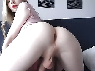 Amateur blonde tgirl talks and shows butthole gay