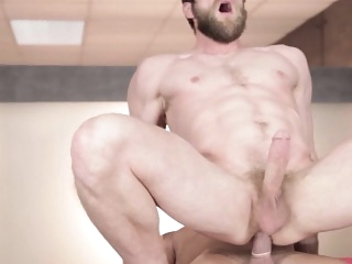 Bearded jock cockriding stud with tight ass gays (gay) hunks (gay) muscle (gay)