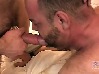 Blake Randolph, Marco Bolt and Rick Sierra blowjob (gay) daddies (gay) gays (gay)