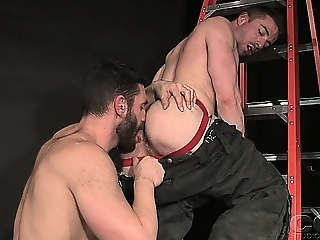 Bob Hager and Scott Hunter fuck in their firefighter amateur (gay) gays (gay) men (gay)