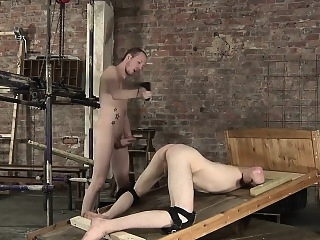 Sean loves a tight and perfectly smooth twink hole for his bdsm (gay) fetish (gay) gays (gay)
