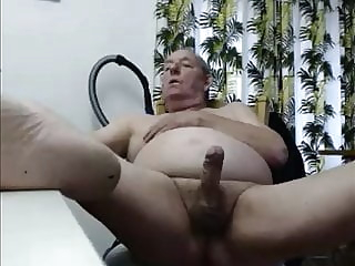 grandpa cum on webcam big cock cum tribute daddy