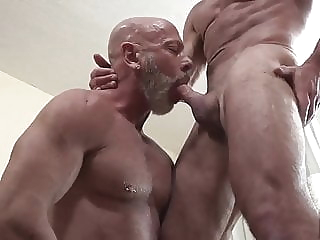 Dale Savage and Benjamin James (DT P2) bareback daddy muscle