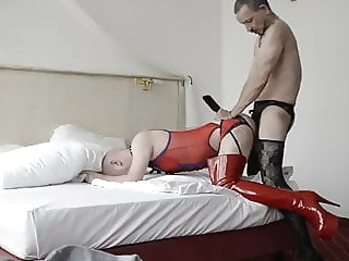 Crossdress hotel fuck amateur (gay) bareback (gay) crossdresser (gay)