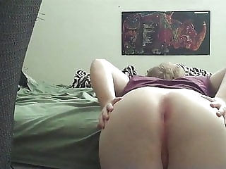 Big White Ass Tease amateur (gay) crossdresser (gay) webcam (gay)