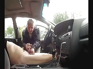 Car cruising man (gay) masturbation (gay) outdoor (gay)