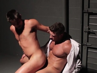 Office hunk facefucked before sex with muscle cumshot (gay) gays (gay) hunks (gay)