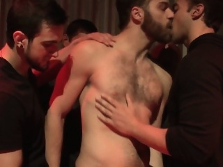 Bukkake loving jocks in the club sucking cock blowjob (gay) cum tributes (gay) gays (gay)