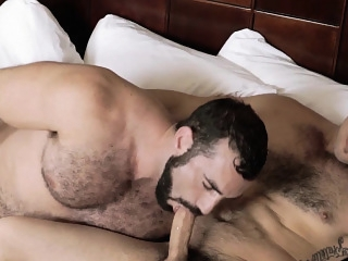 Men.com - Aspen and Jaxton Wheeler - Pit Stop - Str8 to Gay big cocks (gay) blowjob (gay) gays (gay)