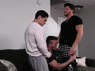 Ashton McKay and Aspen and Connor Maguire blowjob (gay) gays (gay) group sex (gay)