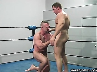 Wrestling Hunks #02 blowjob (gay) gays (gay) muscle (gay)
