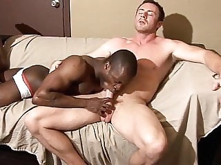Marco paris bangs calvin bareback blowjob interracial