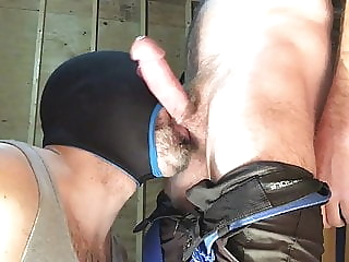 Sucking Balls amateur bdsm big cock